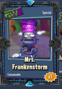 Mrs Frankenstorm Sticker