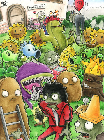 File:Plants vs Zombies by Merinid DE.jpg