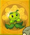 Dandelion on Gold