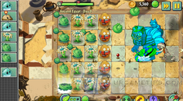 Plants vs Zombies 2 Ancient Egypt Day 8