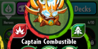 Captain Combustible/Gallery