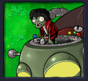 Dancing zombie in zombot