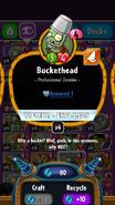 Buckethead statistics