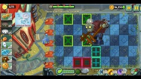 Terror From Tomorrow Level 98 99 Plants vs Zombies 2 Endless GamePlay