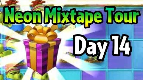 Plants vs Zombies 2 - Neon Mixtape Tour Day 14 (Beta) Celery Stalker costume