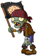 HD Pirate Flag Zombie