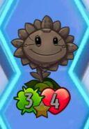 TintedGrayMetalPetalSunflower
