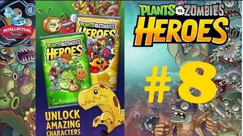Plants vs Zombies Heroes Part 8 Open Green Shadow - Solar Flare Premium Pack and 9 Basic Packs