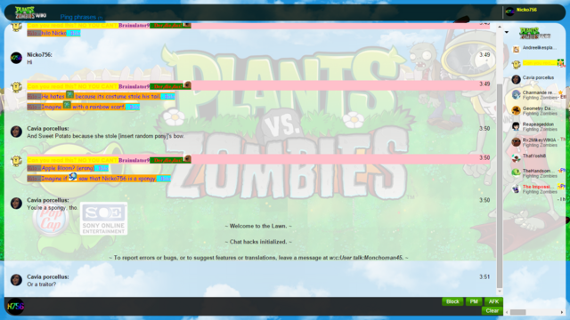 File:Plants vs. Zombies Chat Skin White.png