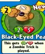 Receiving Black-Eyed Pea