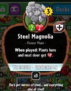 Steel magnolia stats