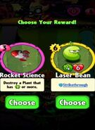 Choice between Rocket Science and Laser Bean