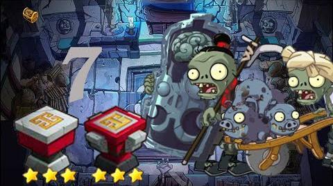 PvZ Online - Adventure Mode - Mausoleum Advent 7