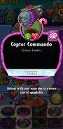 Copter Commando's statistics
