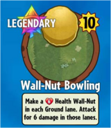 Receiving Wall-Nut Bowling