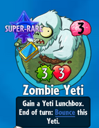 Receiviing Zombie Yeti (New)