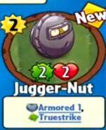 Receiving Jugger-Nut