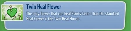 TwinHealFlower
