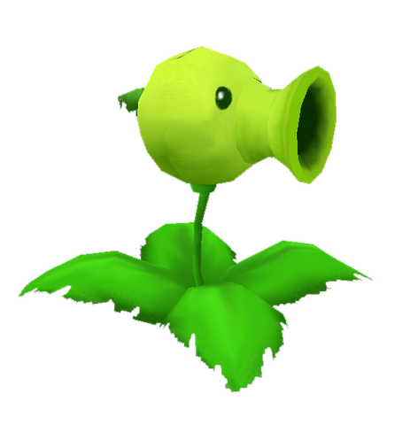 File:Plants vs zombies peashooter by aaronvft-d4h49lg.png