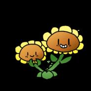 Twinsunflowersunshroom
