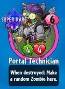 Receiving Portal Technician