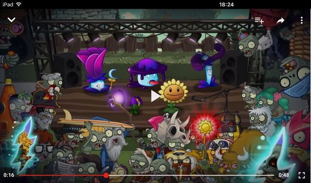 File:Plants vs Zombies 2 Modern Day part 1 trailer Zombies on Your Lawn.jpeg