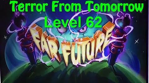 Terror From Tomorrow Level 62 Plants vs Zombies 2 Endless