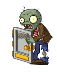 File:PvZ 2 Styled Screen Door Zombie (BY PVZABF).png