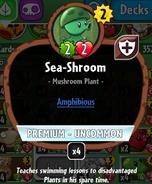 Sea-shroom stats