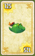Guacodile Costume Card