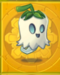 Ghost on gold