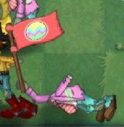 Flag easter falling