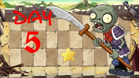 PvZ All Stars - Great Wall of China Day 5 BOSS