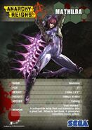 Stat Card Mathilda