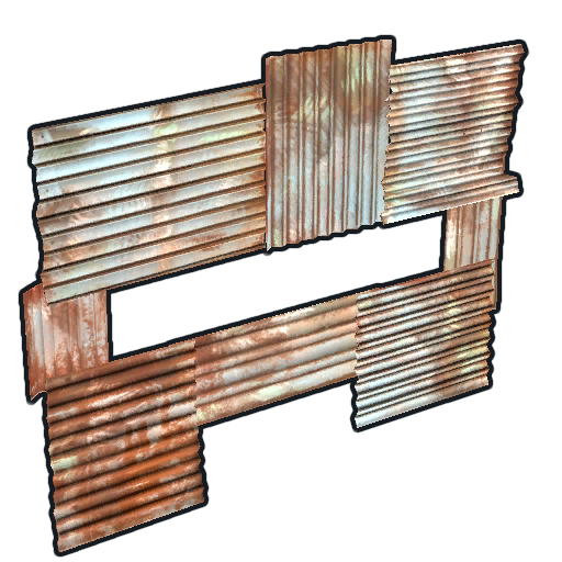 Metal Horizontal Embrasure Rust Wiki Fandom Powered By