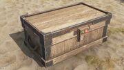 Large Wood Box Code Lock