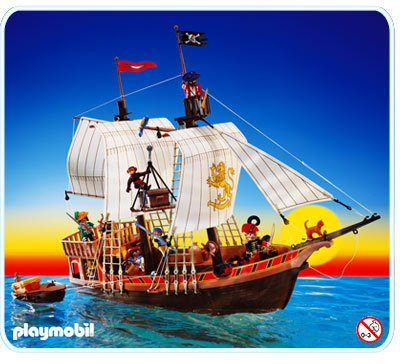 3053 pirate ship playmobil wiki fandom powered by wikia - Playmobil bateau corsaire ...