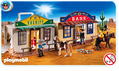 4398 my take along western city playmobil wiki fandom. Black Bedroom Furniture Sets. Home Design Ideas