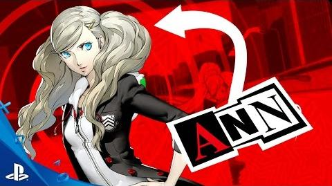 Persona 5 - Ann Trailer PS4, PS3