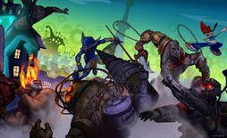 PlayStation All Stars Battle Royal image2