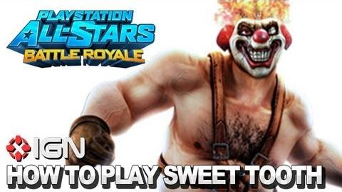 How to Use Sweet Tooth in PlayStation All-Stars Battle Royale