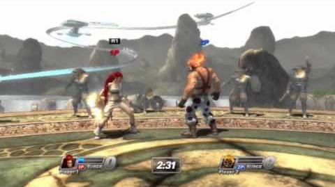 PS All-Stars Battle Royale Origins - Fearless (stage)