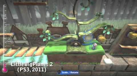 PlayStation All-Stars Battle Royale Origins - Sackboy
