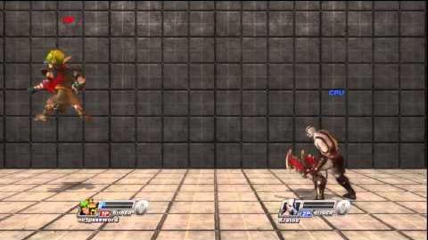 Playstation All-Stars Battle Royale Jak Punch Glitch