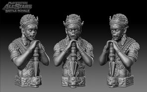 Shambala Statue Z01