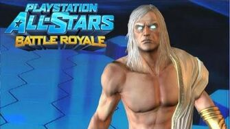 """Playstation All Stars Battle Royale Zeus """"Young Zeus"""" Costume Review (Commentary)"""