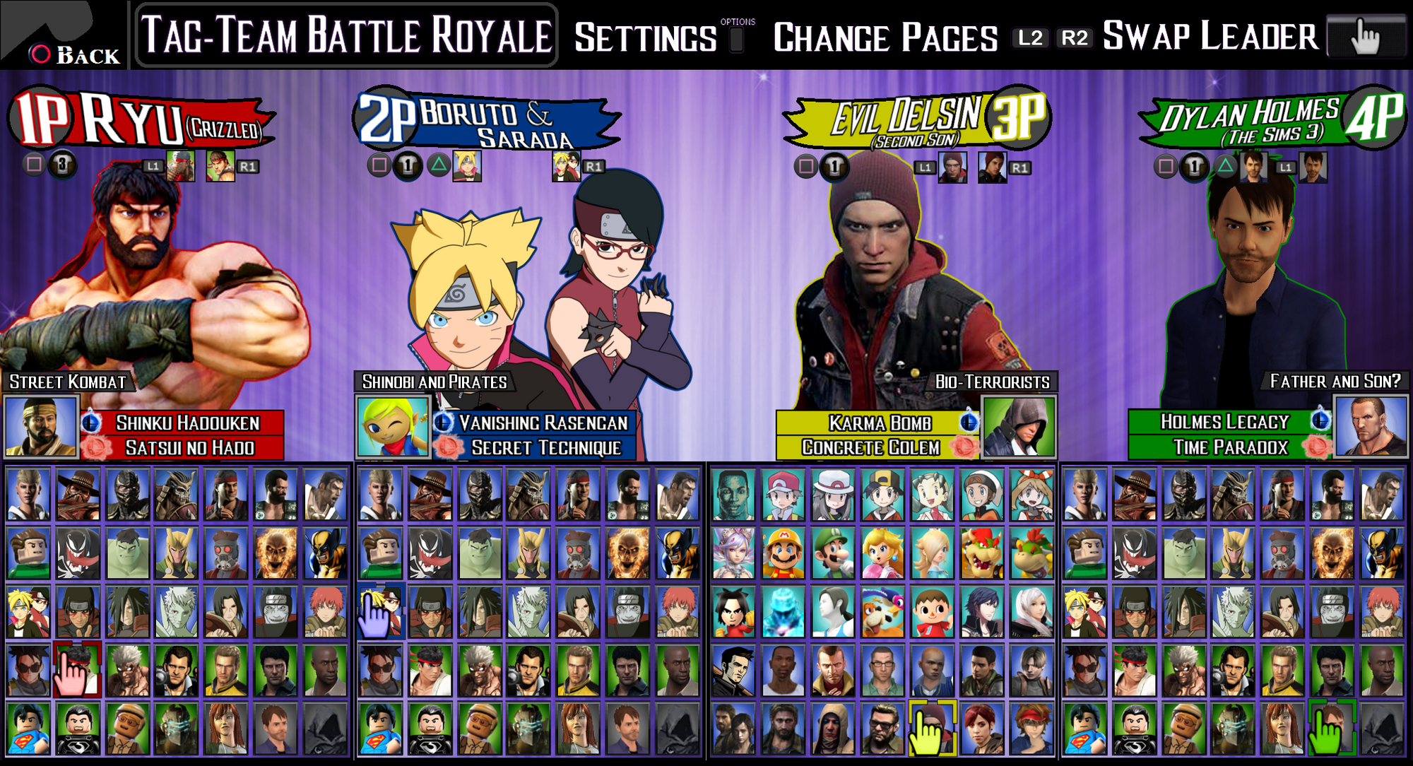 Playstation All Stars Wiki: User Blog:LeeHatake93/The Crossver Game: Character Roster
