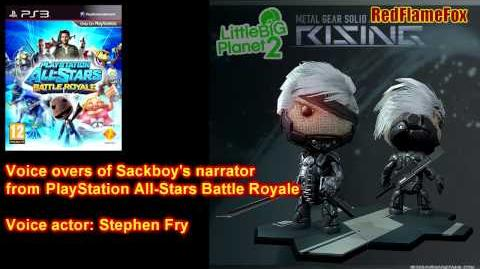 PlayStation All Stars Battle Royale Sackboy Voice Over
