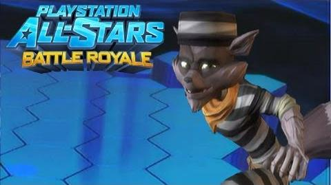 """Playstation All Stars Battle Royale Sly Cooper """"Jailbird"""" Costume Review (Commentary) (PS3)"""