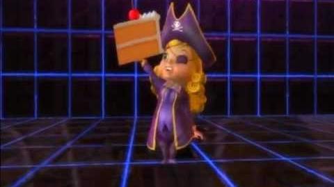 Playstation AllStars Battle Royale - Fat Princess's Colors (Preorder Costume)